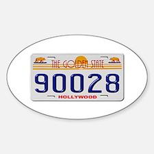 Hollywood 90028 Decal