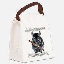 ChinRaisonsdark1.png Canvas Lunch Bag
