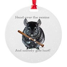 Chin Raisin Ornament