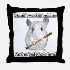 ChinRaisons2dark.png Throw Pillow