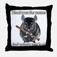 ChinRaisonsdark1.png Throw Pillow