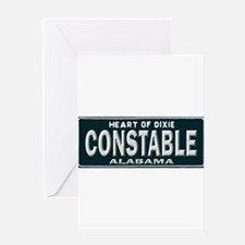 Alabama Constable Greeting Card