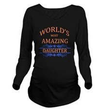 Daughter Long Sleeve Maternity T-Shirt