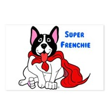 Super Frenchie Postcards (Package of 8)