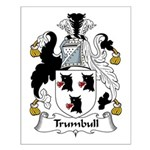 Trumbull Family Crest Small Poster