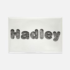 Hadley Wolf Rectangle Magnet