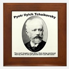 Tchaikovsky: Work Framed Tile