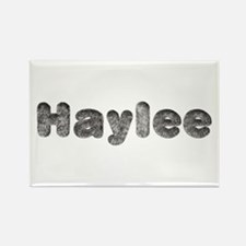 Haylee Wolf Rectangle Magnet