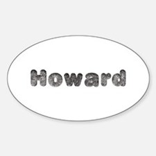 Howard Wolf Oval Decal