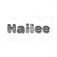 Hailee Wolf Aluminum License Plate