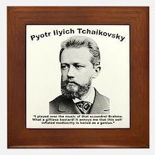 Tchaikovsky: Brahms Framed Tile
