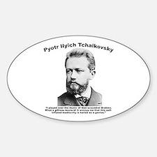 Tchaikovsky: Brahms Decal