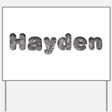 Hayden Wolf Yard Sign
