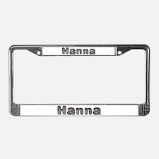 Hanna Wolf License Plate Frame