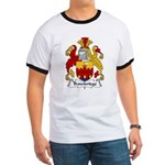 Trowbridge Family Crest Ringer T