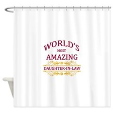 Daughter-In-Law Shower Curtain