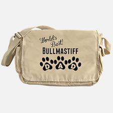 Worlds Best Bullmastiff Dad Messenger Bag