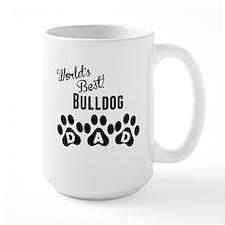 Worlds Best Bulldog Dad Mugs