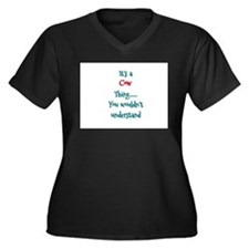 Cow Thing Plus Size T-Shirt
