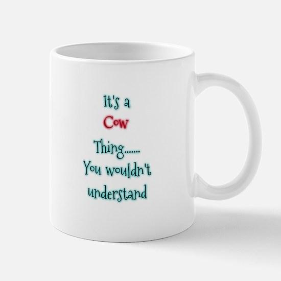 Cow Thing Mugs