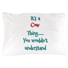 Cow Thing Pillow Case