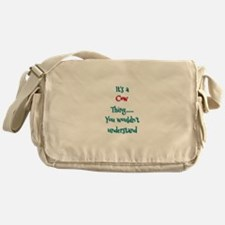 Cow Thing Messenger Bag