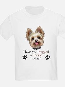 Yorkie Hug T-Shirt