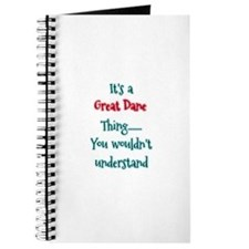 Great Dane Thing Journal