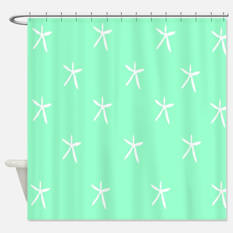 seafoam green shower curtains seafoam green fabric shower curtain