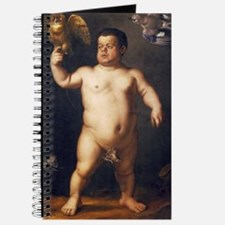 Portrait of the Dwarf Morgante by Bronzino Journal