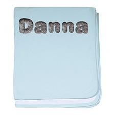 Danna Wolf baby blanket