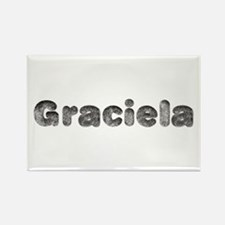 Graciela Wolf Rectangle Magnet