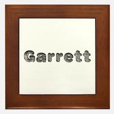 Garrett Wolf Framed Tile