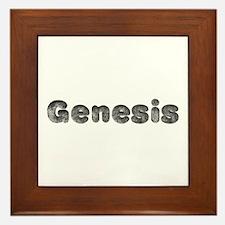 Genesis Wolf Framed Tile
