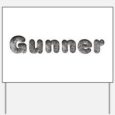 Gunner Wolf Yard Sign