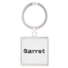 Garret Wolf Square Keychain