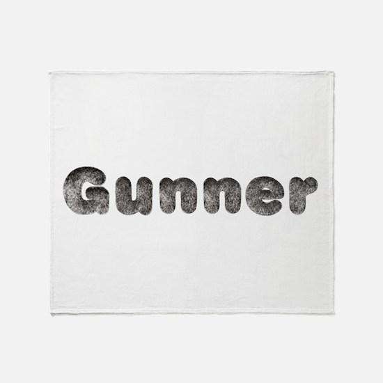 Gunner Wolf Throw Blanket