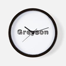 Greyson Wolf Wall Clock