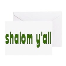 Rosh Hashanah Shalom Y'all Greeting Card