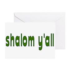 Rosh Hashana Shalom Y'all Greeting Cards (Pk of 10