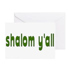 Rosh Hashana Shalom Y'all Greeting Cards (Pk of 20