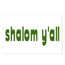 Rosh Hashanah Shalom Y'all Postcards (Package of 8
