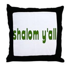 Rosh Hashanah Shalom Y'all Throw Pillow