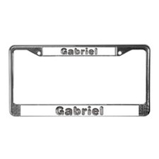 Gabriel Wolf License Plate Frame