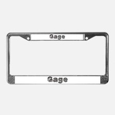 Gage Wolf License Plate Frame