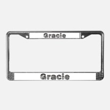 Gracie Wolf License Plate Frame