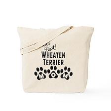 Worlds Best Wheaten Terrier Mom Tote Bag