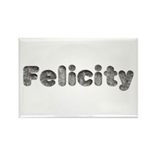 Felicity Wolf Rectangle Magnet