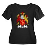 Tripp Family Crest Women's Plus Size Scoop Neck Da