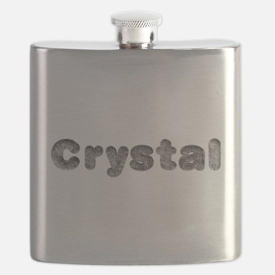 Crystal Wolf Flask